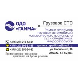 """Грузовая СТО """"Гамма"""""""